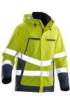JOBMAN Hi Vis Waterproof Warm Shell Jacket- 1383