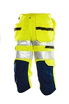 JOBMAN Hi-Vis Long Work Shorts- 2216