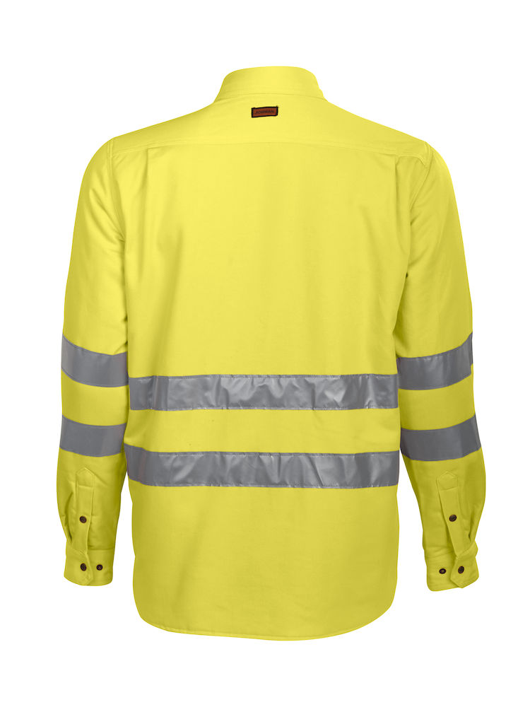 Jobman High Visibility Quilted Shirt