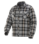JOBMAN Quilt-lined Flannel Shirt- 5157