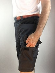Left Thigh Pocket Cluster with Phone Pocket
