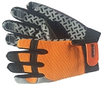 JobWear Solutions Orange Sure-Grip Work Gloves