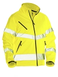 JOBMAN Workwear Hi Vis Lightweight Softshell Jacket-1278