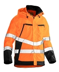 JOBMAN Hi Vis Waterproof Shell Jacket- 1283