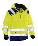 JOBMAN Hi Vis Star Winter Jacket- 1347