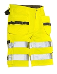 JOBMAN Workwear Hi-Vis Craftsman Shorts- 2207