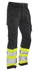 JOBMAN Workwear Service Workpants with Hi Vis-2212