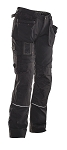 JOBMAN Workwear Fast Dry Craftsman's Workpants for Women-2872