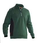 JOBMAN Workwear Half Zip Sweatshirt- 5401