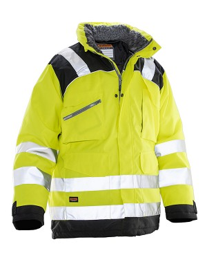 JOBMAN New High Visibility Winter Parka -1236