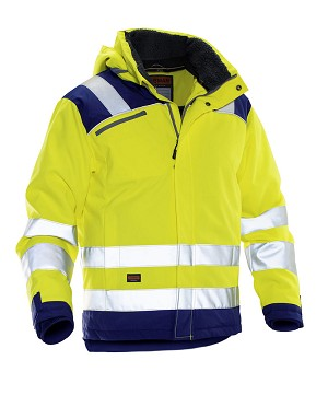 JOBMAN High Visibility Star Winter Jacket- 1347