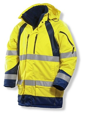 JOBMAN High Visibility Winter Parka -1254