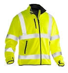 JOBMAN Hi Vis Lightweight Softshell Jacket- 5101