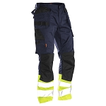JOBMAN Craftsman Work Pants with Hi-Vis - 2513