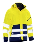 JOBMAN Hi Vis Breathable Shell Jacket- 1273