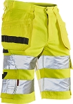 JOBMAN Craftsman Hi-Vis Work Shorts- 2205