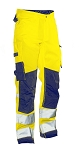 JOBMAN Hi Vis STAR Service Workpants- 2221