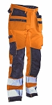JOBMAN Hi Vis STAR Craftsman Workpants- 2222