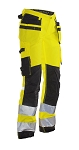 JOBMAN Hi Vis STAR Craftsman Workpants for Women- 2272