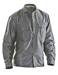 JOBMAN Cotton Long-Sleeved Work Shirt - 5601-17